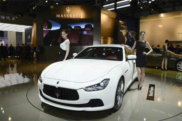 2014 Maserati Ghibli is in Top 10 Cars at Shanghai Auto Show