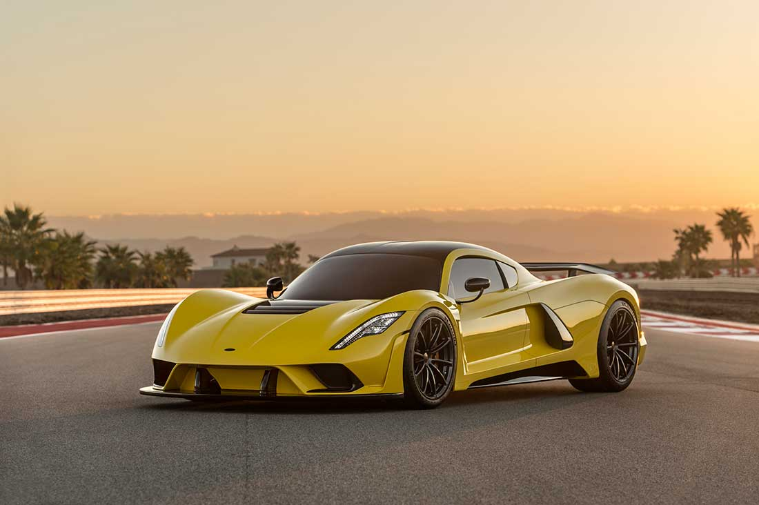 Hennessey Venom F5 - Rank#1 in Fastest Cars in the World