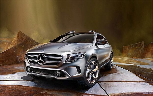 Mercedes Benz The Concept GLA