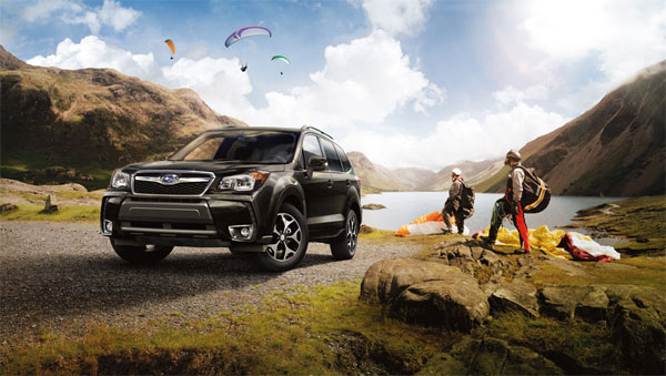 The 2014 Subaru Forester