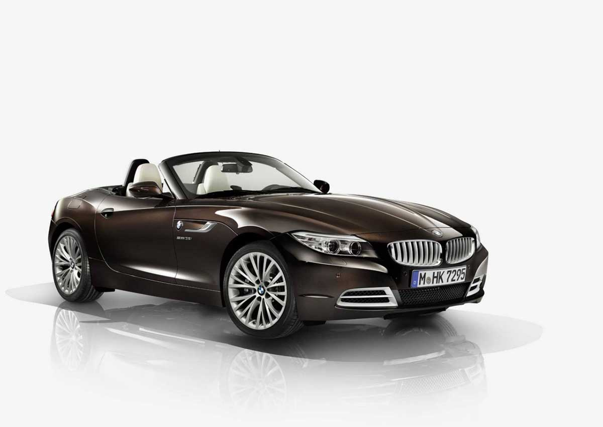 new bmw z4 gets pure fusion design