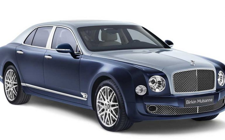 bentley introduces birkin mulsanne exclusively for european buyers