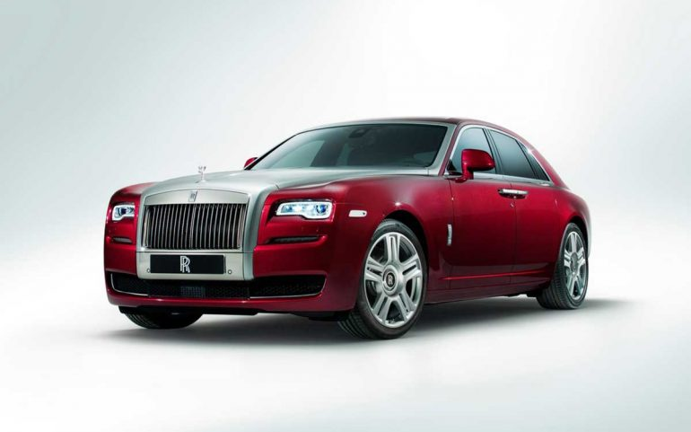 ghost series ii by rolls royce makes its european debut at geneva motor show