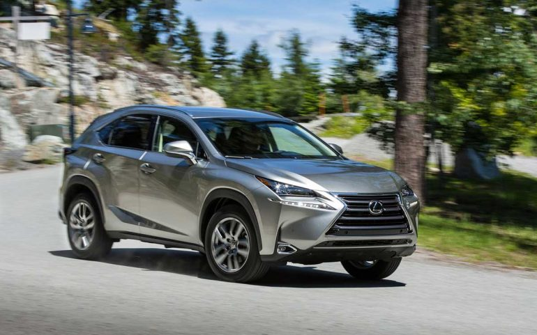 lexus introduces 2015 nx in two new versions