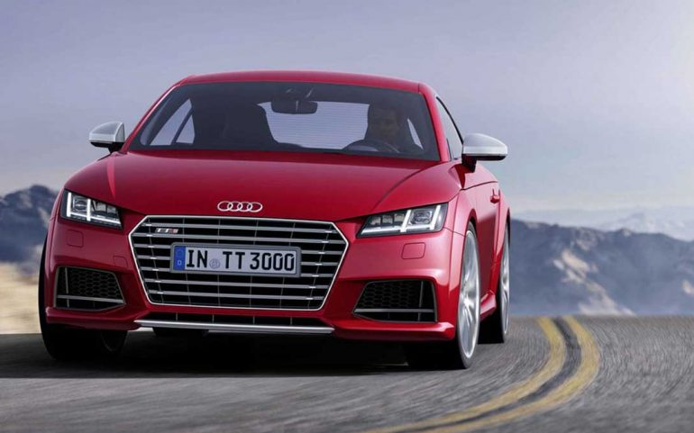 The New audi tt is officially available now
