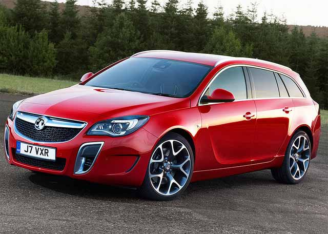 Vauxhall Insignia VXR Front