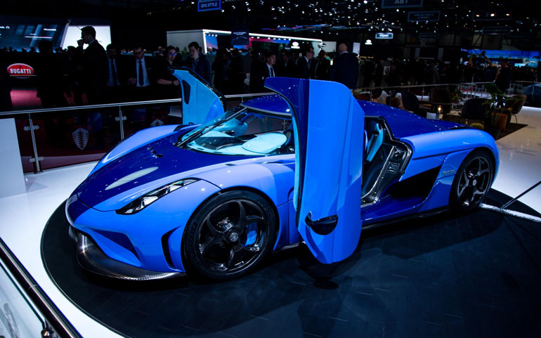 Regera Ghost and d'Elegance Ready For Showcase at the Geneva Motor Show