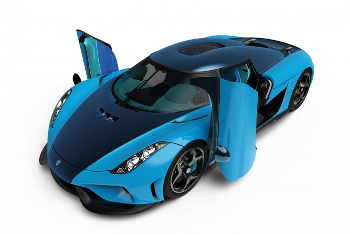 Regera Swedish Blue