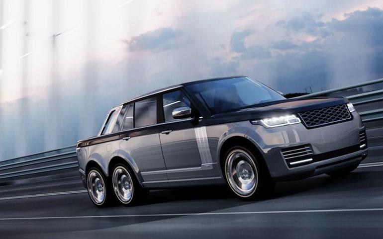 Range Rover 6x6 SLT Truck
