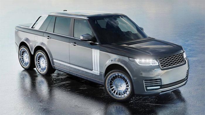 Range Rover 6x6 SLT