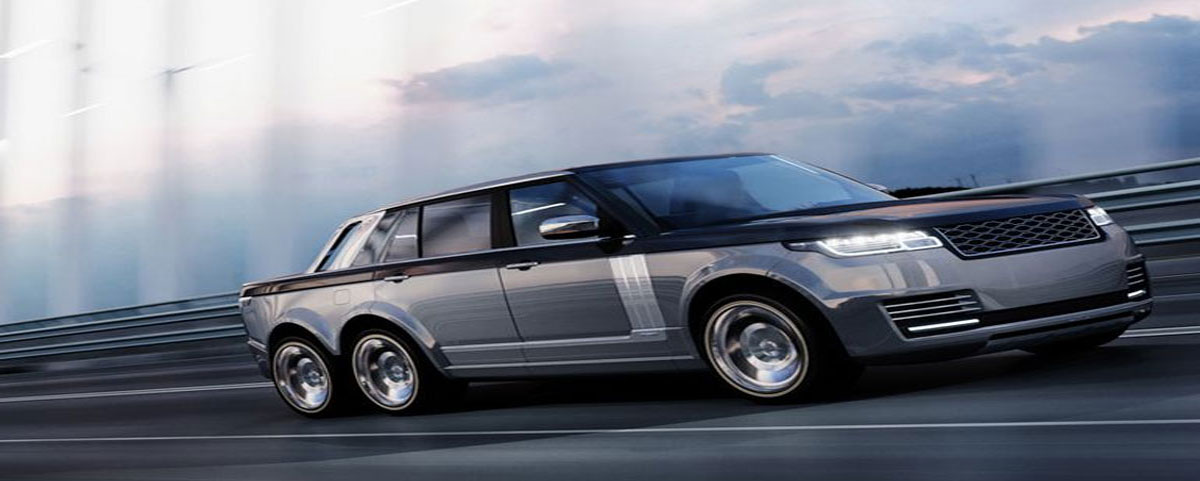 The Range Rover 6×6 slt Truck a Rival to the Mercedes g63 amg 6×6