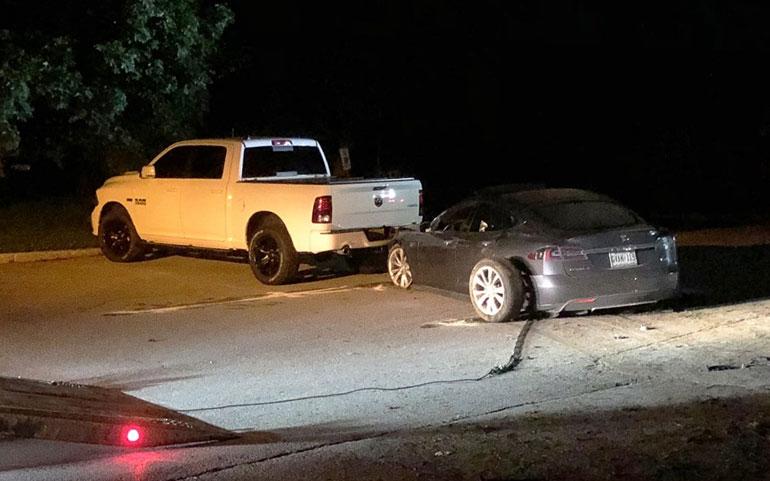 Tesla Model S Crashes