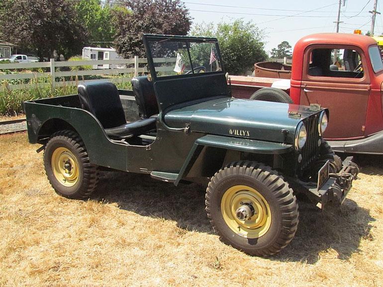 1945 Willys CJ-2A