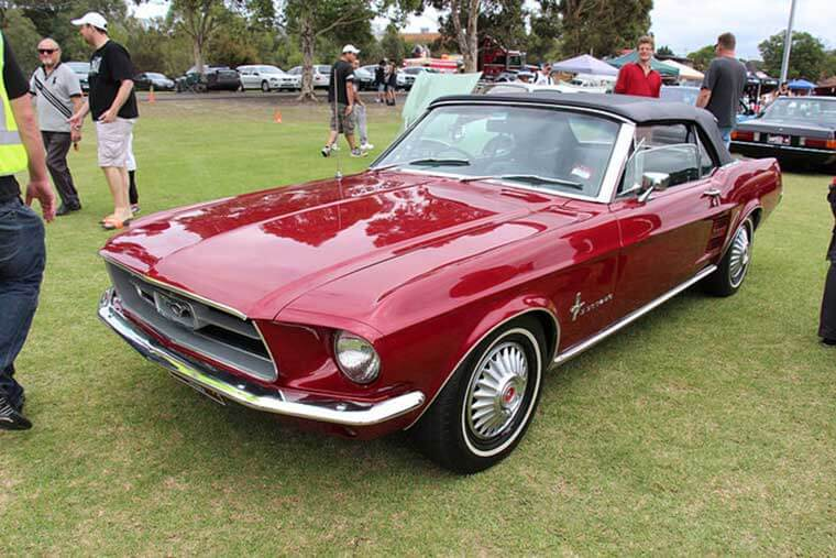 Mighty Mustang Exterior