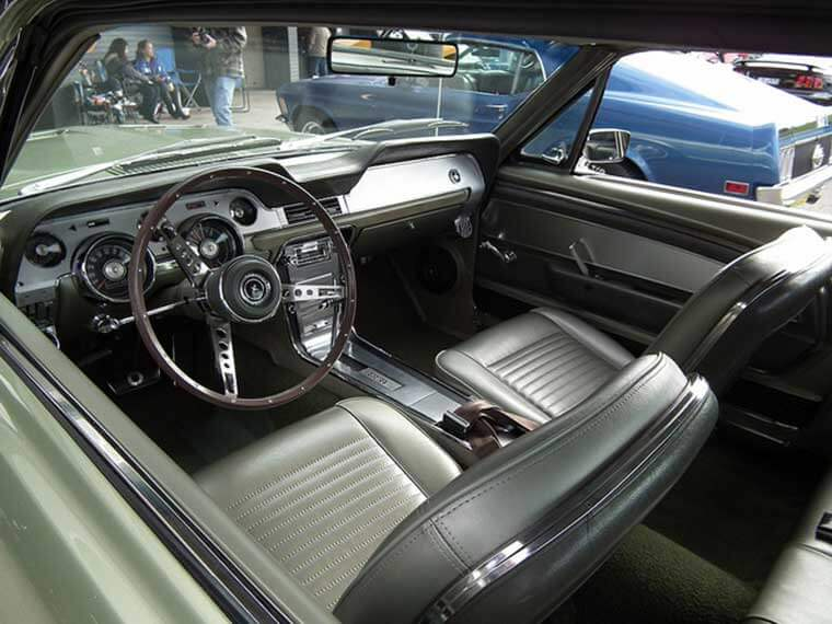 Mighty Mustang Interior