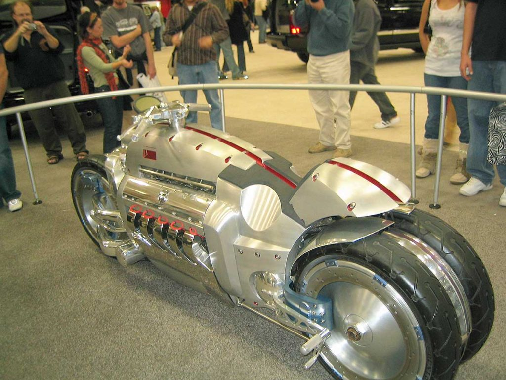 Dodge Tomahawk takes Number 1 spot in Sports motorbikes