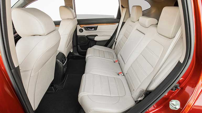 Honda CR-V Interior Review